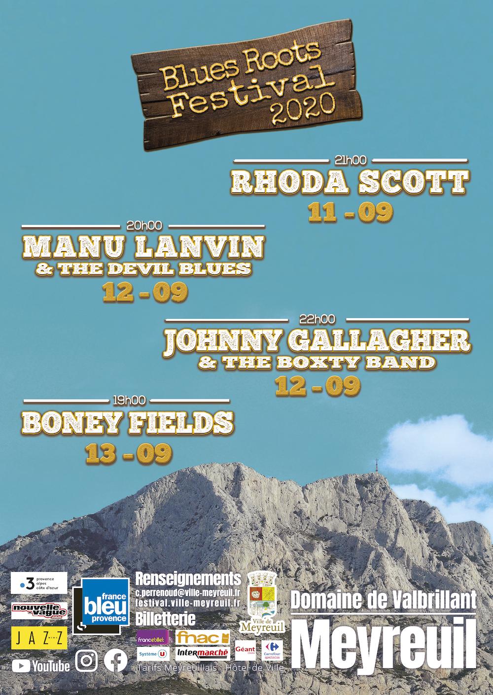 Concert de blues Provence 13 PACA